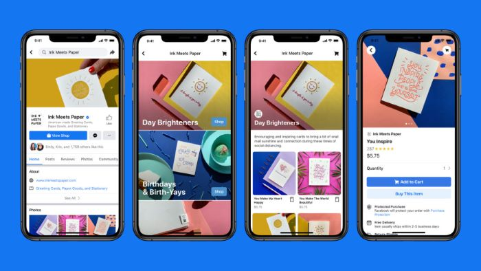 FB launched facebook shop feature